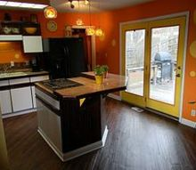 the kitchen was a blast i used granite tile for the counter to save some money i, home decor, kitchen design
