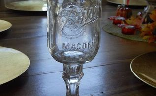 here is an awesome diy project for you it is a lovely gift redneck wine glasses, crafts, mason jars, I must be a redneck cause I think that these are sensational
