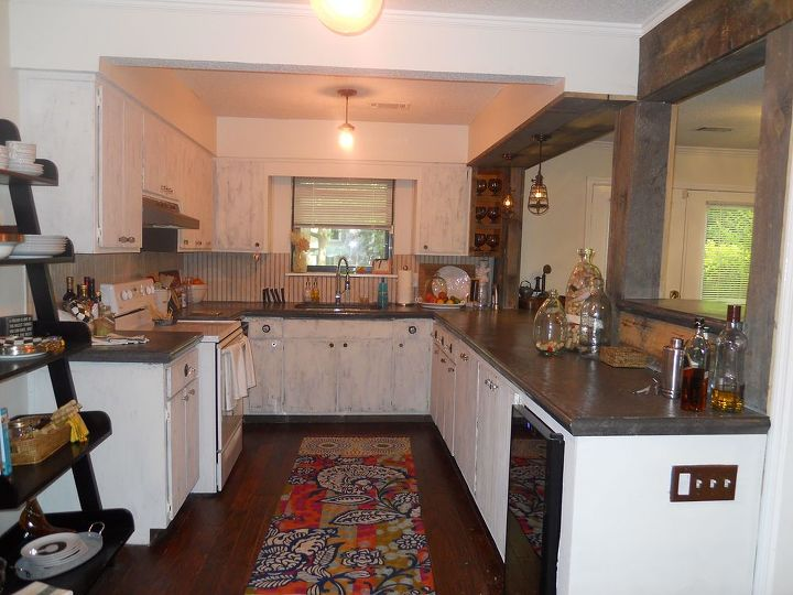 Kitchen Remodel Is Finished My Son Lance Had Help From