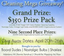 the ultimate spring cleaning mega giveaway