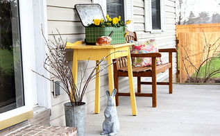 colorful vintage front porch, curb appeal, gardening, outdoor living, porches