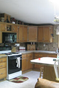 kitchen before and after, electrical, home decor, kitchen design, Before