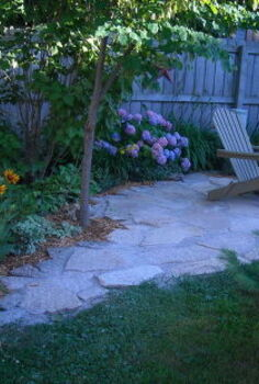 my secret garden, concrete masonry, outdoor living, flagstone patio
