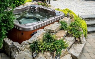 the magic of a portable spa patio or spa deck, decks, outdoor living, patio, Spa Patio