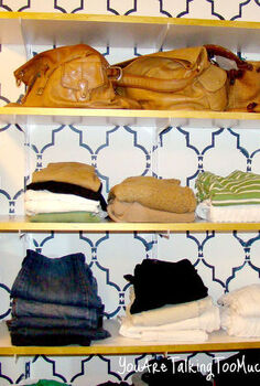 want to purge want to organize don t want to spend any money doing it, closet, organizing, shelving ideas, Is it obvious that I am drawn to neutrals Like the bling on the shelf Can you see it