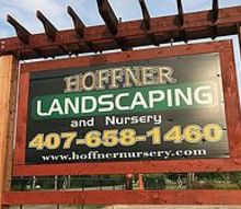 welcome to our nursery, gardening, Cant miss our new sign