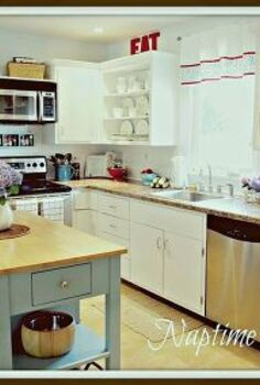 my favorite room the kitchen, home decor, kitchen cabinets, kitchen design, painting, After
