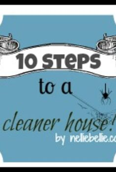 10 tips for a cleaner house, cleaning tips