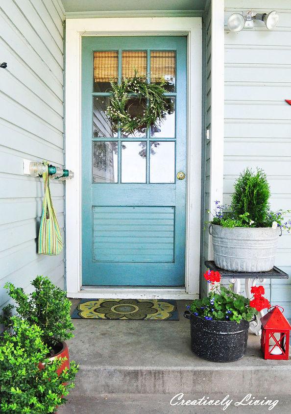 Back Door Entry : My summer back entry hometalk
