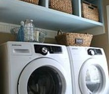 guess what we re having a live laundry room chat tomorrow, laundry rooms, organizing, Amy from Atta Girl Says turned her dreaded laundry room into a happy place