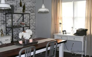 industrial dining room reveal, dining room ideas, home decor