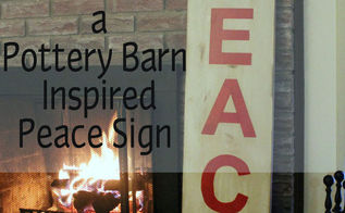 Diy Holiday Sign Pottery Barn Inspired Easy