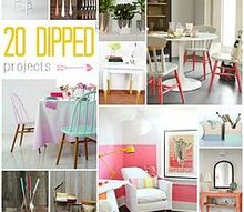 20 paint dipped projects diy project of the week, painted furniture