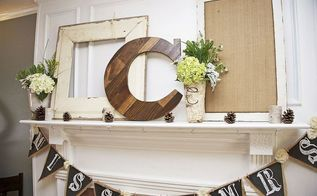 diy wood letter from scraps, home decor, woodworking projects, Final Product