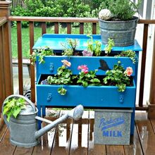 my favorite projects of 2012, crafts, gardening, home decor, repurposing upcycling, Thrift store dresser turned outdoor planter