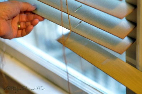 Painting Wood Blinds Home Decor Painting To Take Out The Slats You Simply