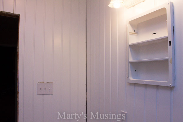 Make Your Small Bathroom Look Bigger: Install Beadboard Paneling ...