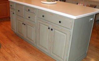 painting my kitchen island with annie sloan chalk paint, chalk paint, kitchen design, kitchen island, painting, I sealed with the lacquer versus waxing just because of the size and I wanted a very durable finish