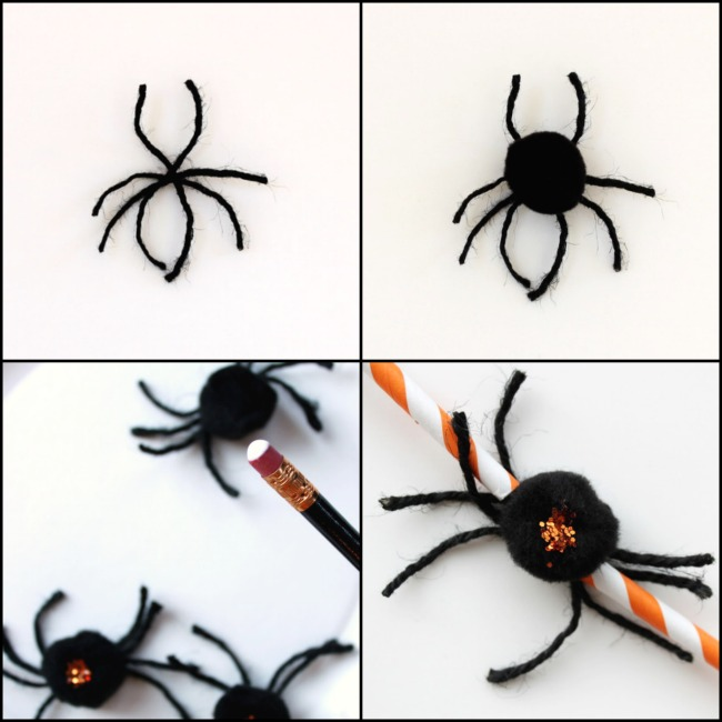 halloween spider garland crafts halloween decorations seasonal holiday decor to make one - Halloween Spiders