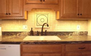 kitchen lighting makeover before after, home decor, kitchen design, lighting, What a difference light can make