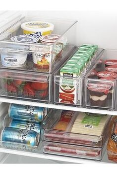 chill out and organize your fridge a how to with before and after photos, Fridge Binz