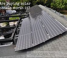 are solar panels worth the cost, green living, roofing