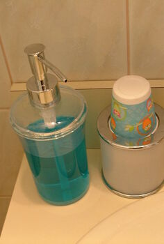 mouthwash dispenser, home decor