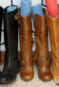 looking for ways to organize your cluttered areas, organizing, The noodles in the boots actually work great and SO cheap to keep your boots in great shape and tidy
