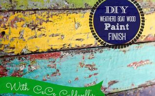 how to recreate that old chippy boat paint finish with a spatula, painted furniture, pallet, repurposing upcycling