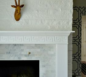 DIY Fireplace Makeover || Before & After Reveal | Hometalk