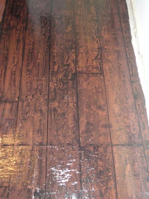 i painted my awful underlayment to look like hardwood floors i lt 3 it flooring - Flooring That Looks Like Hardwood