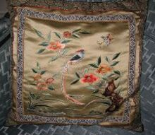 my dear mother s artwork amp sewing, crafts, Pillow Hand stitched needlepoint