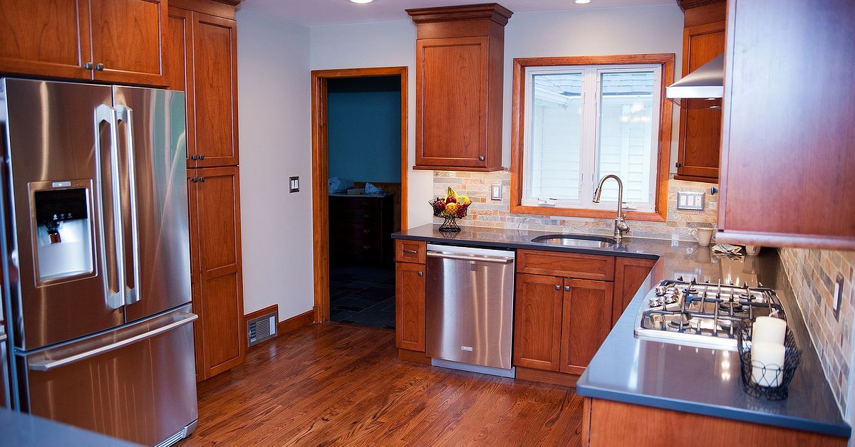 Wood floors in kitchen vs tile