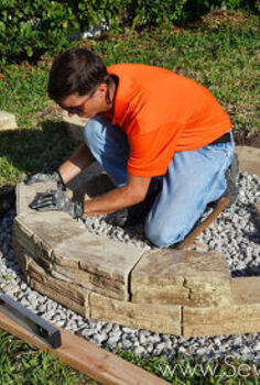 how to build an outdoor fire pit, diy, how to, outdoor living, Watch our video on how to build an outdoor fire pit