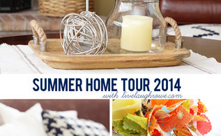 summer home tour, dining room ideas, home decor, kitchen design