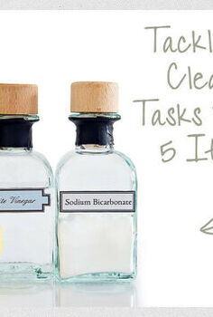 tackle 40 cleaning tasks with 5 items, cleaning tips