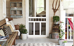 our summer porch, porches, seasonal holiday decor, It calls out Welcome