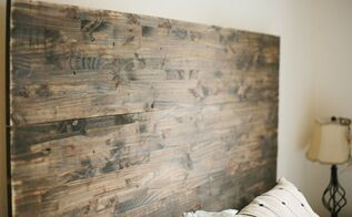 diy rustic headboard, diy, painted furniture, rustic furniture, More photos in blog link