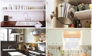 maximizing small living spaces, cleaning tips, storage ideas, Maximizing small kitchens
