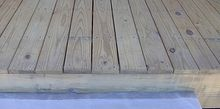 sealing your wood deck for years of enjoyment, decks, home maintenance repairs, how to, As a rule of thumb for our area as the decking has to be butted together when installing it generally when the gaps are like this we know it is dry enough can be sealed still best to check moisture content with a meter
