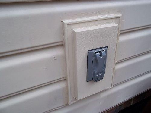 Sealing Around A Vinyl Siding Mounting Block Hometalk