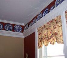 plate rail, home decor, wall decor, plate rail