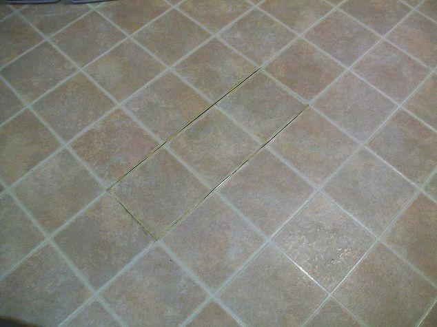 Linoleum Kitchen Floor Tile - YES You CAN Paint Vinyl Linoleum ...