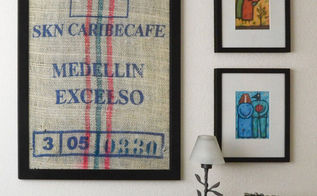 diy burlap art, crafts