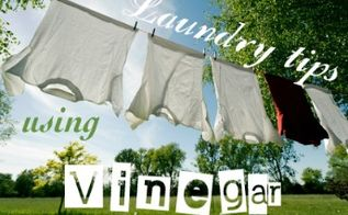 laundry tips using vinegar part 1, cleaning tips