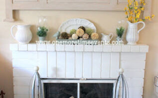 re purposing old window into a fireplace screen, fireplaces mantels, home decor, repurposing upcycling
