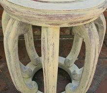 how to get a vintage paint finish with leftover paint a rag, painted furniture