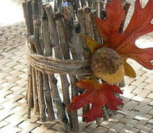 copy cat twig candle holder, crafts, Copy Cat Twig Candle Holder