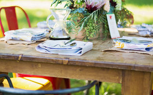 wedding inspiration outdoor decoration and more, home decor, outdoor living, The perfect table arrangement always needs a beautiful vase of flowers