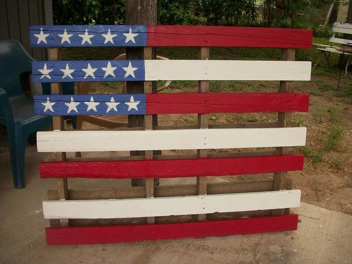 Flag Pallet   Hometalk
